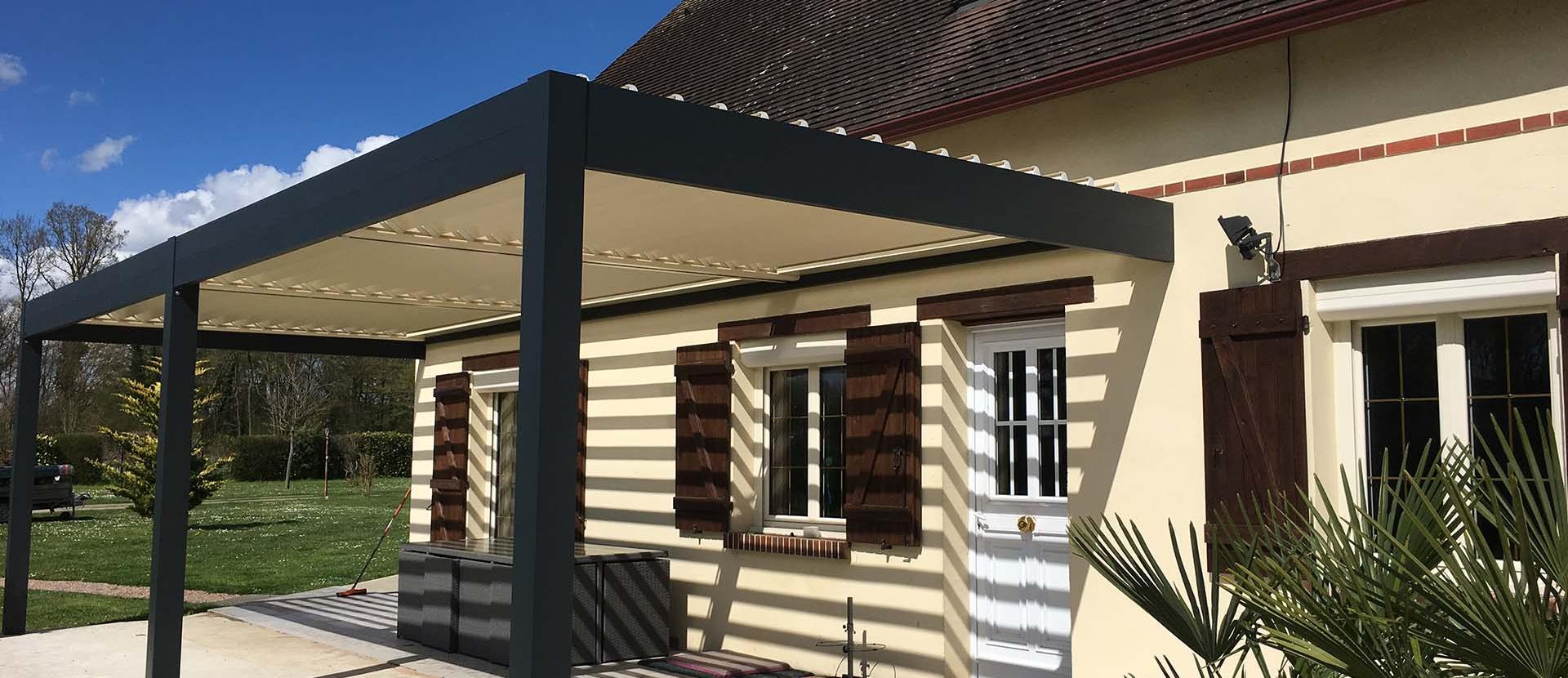 Installation de pergolas Brest